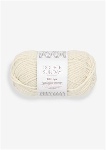 PetiteKnit Double Sunday - Whipped cream 1012
