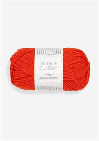 PetiteKnit Double Sunday - That Orange Feeling 3819