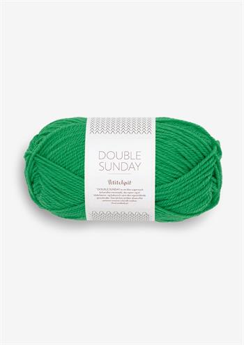 PetiteKnit Double Sunday - Statement Green 8236