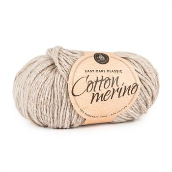 Easy care classic Cotton Merino Sand